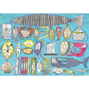 An Alphabet of All Things Fishy A3